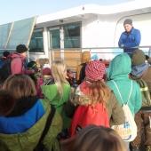 Vor dem Solarboot