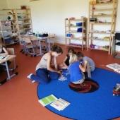 Arbeiten im Lerngruppenraum
